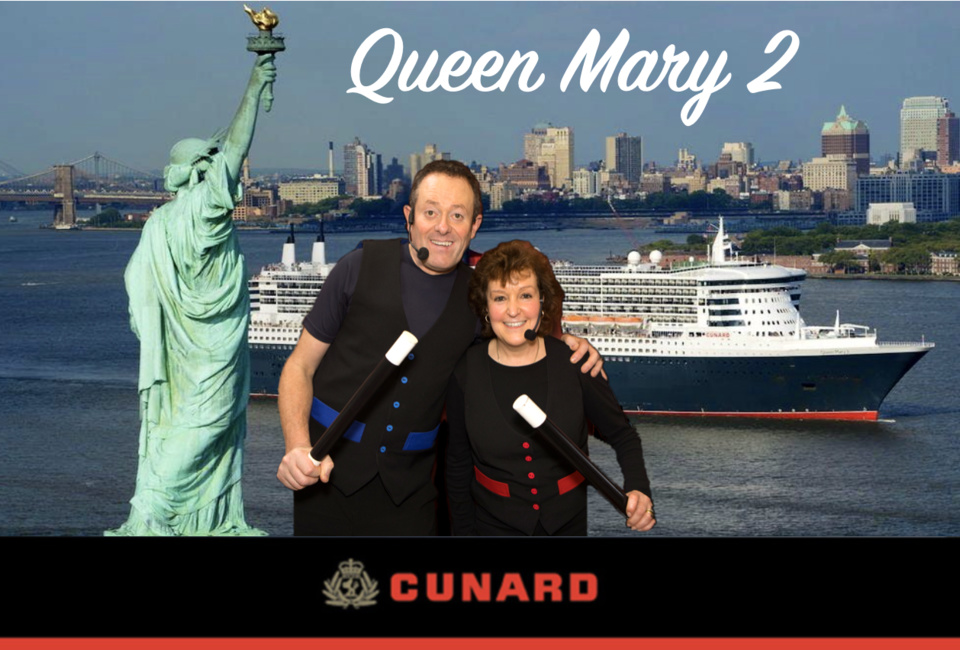 Nikki and Charlie Perform Onboard Cunard's Queen Mary 2